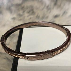Hinged Michael kors bracelet